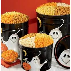Boo! 6 1/2 Gallon 3 Way Popcorn Tin