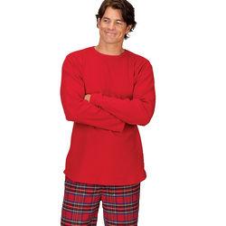 Stewart Plaid Thermal Top Pajamas for Men