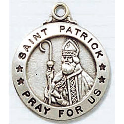 St. Patrick Patron Saint Medal
