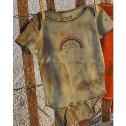 Trendy Hand Dyed Newborn Bodysuit