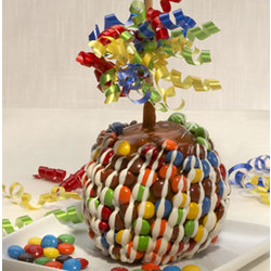 Caramel Apple with Candies
