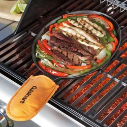Cuisinart® Cast Iron Fajita Pan Set
