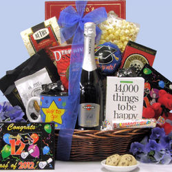 Here's to Your Success Graduation Champagne Gift Basket