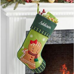 Personalized Holiday Magic Christmas Stocking