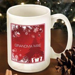 Red Holiday Surprises Coffee Mug