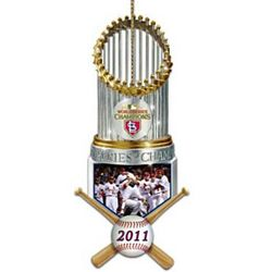 St. Louis Cardinals 2011 World Series Champions Ornament