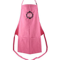 Personalized Hot Pink Adult Apron