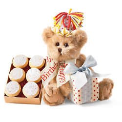 Birthday Bear Cookie Gift Set