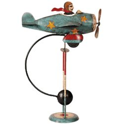 Flying Ace Balance Sculpture