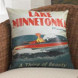 Personalized Indoor/outdoor Throw Pillow