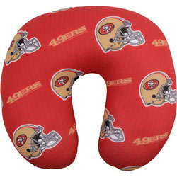 San Francisco 49ers Travel Neck Pillow