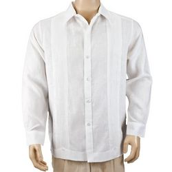 Linen Beach Wedding Shirt