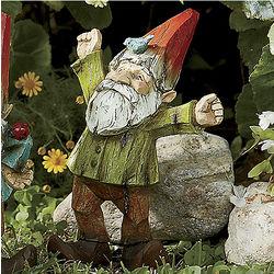 Wayrick Handpainted Garden Gnome