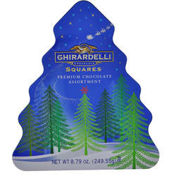Tree Tin of Holiday Chocolates