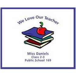 We Love Our Teacher Throw