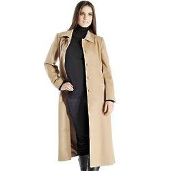 Women's Full Length Cashmere Overcoat