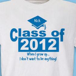 When I Grow Up Graduation T-Shirt