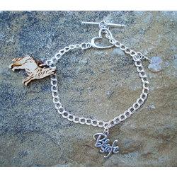 Bella's Charm Bracelet in Sterling Silver