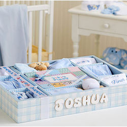 Puppy Dog Tails First Year Gift Set with Name