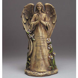 'The Memory Becomes A Treasure' Angel Figurine