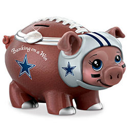 Banking On a Win Dallas Cowboys Piggy Bank