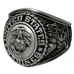 Deluxe US Marine Corps Insignia Ring