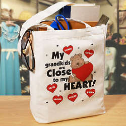 Close to My Heart Personalized Canvas Tote Bag
