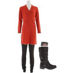 Women's Dress, Pants, Socks, and Boots