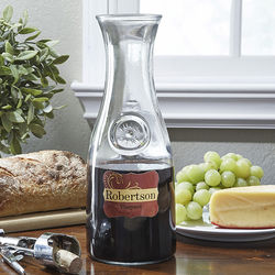 Wine Please Personalized Wine Carafe