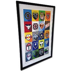 MLS Minimalist Team Logos Framed Print