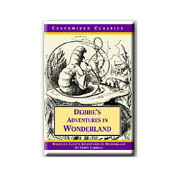 Alice in Wonderland Personalized Edition Starring You