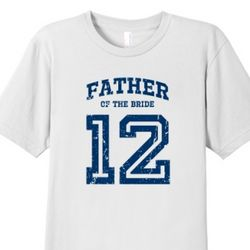 Father of the Bride 2012 Men's Fine Cotton T-Shirt