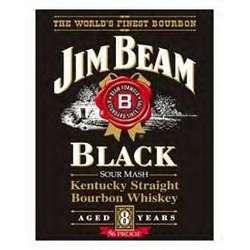 Jim Beam Tin Sign