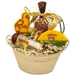 Game Day Snacks Gift Bucket