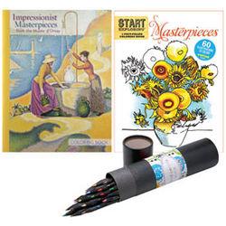 Masterpieces Coloring Book