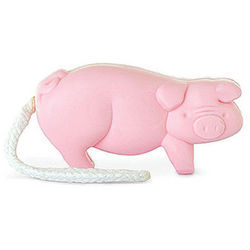Pig Soap on a Rope