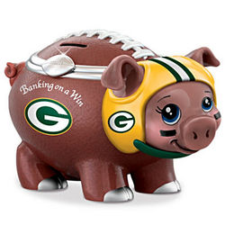 Banking On a Win Green Bay Packers Piggy Bank