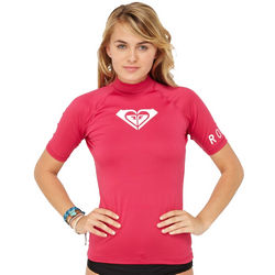 Women's Short Sleeve Lycra Rashguard