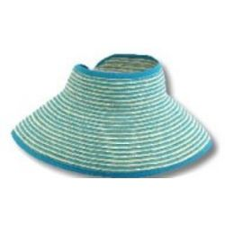 Beach Roll Up Visor Hat