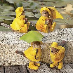 Fowl Weather Friends Garden Statues