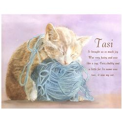 Precious Kitty Personalized Art Print