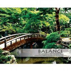 Balance Zen Garden Unframed Motivational Poster