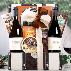 Flowers Winery Sonoma Gift Basket