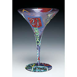 21 Martini Glass