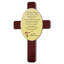 The Lord's Prayer Keepsake Wall Cross