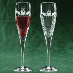 Galway Crystal Flutes