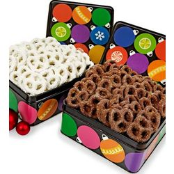 Wintry Wonder Pretzel Tin