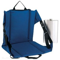 Tailgating Stadium Seat with 64-Ounce Hidden Flask