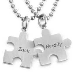 Puzzle Pendant Necklaces
