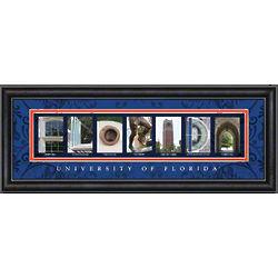 Florida Gators Framed Letter Art Print